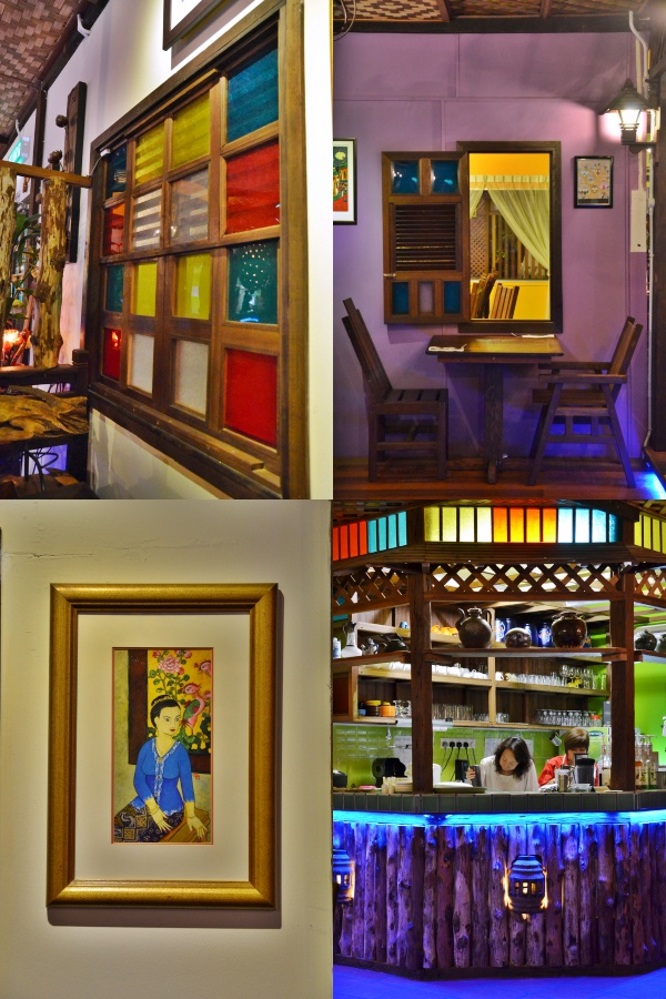 Collage Scenic Cafe