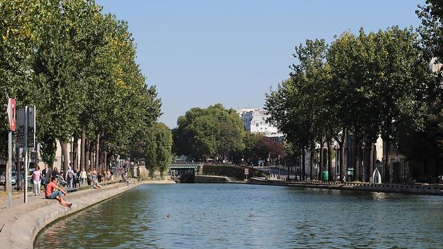 Canal St Martin to Mouzaïa