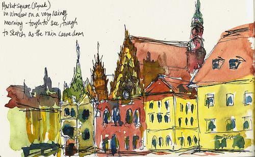 Rynek - Wroclaw, Poland