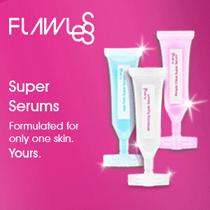Flawless Serum Ad
