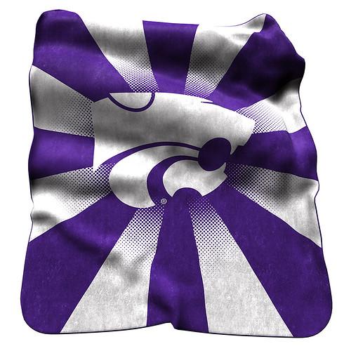 Kansas State Wildcats NCAA Raschel Blanket