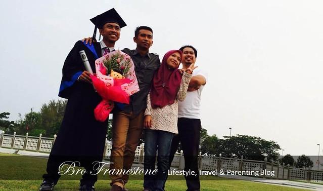 Adik Beradik Konvokesyen Universiti Teknologi Petronas