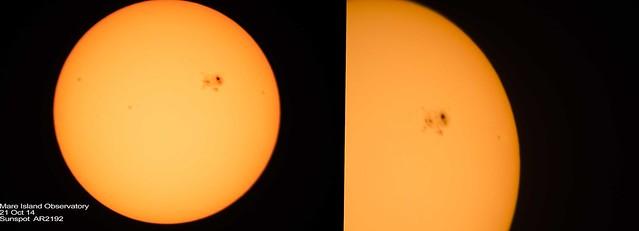Sunspot AR2192