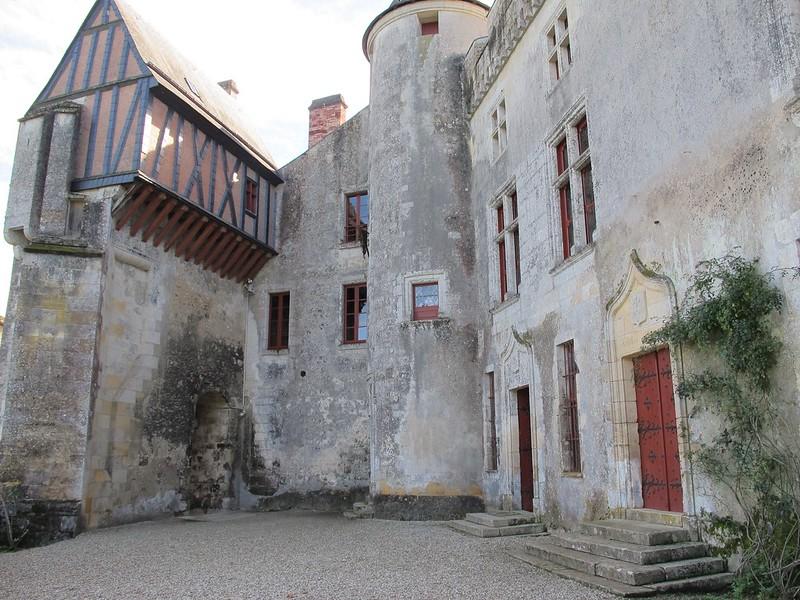 Château de La Brède (XIVe-XIXe), Gironde (33), demeure de l'écrivain Montesquieu (1689-1755)
