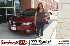 #HappyBirthday to Rene Taherzadeh from James Adams at Southwest KIA Rockwall!