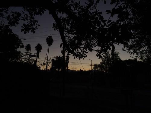 sky clouds sunrise sylmar