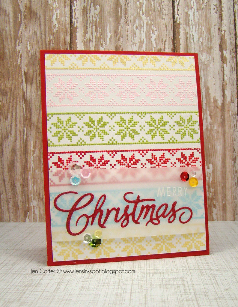 Jen Carter 11.1 Scandi Christmas, Christmas Die