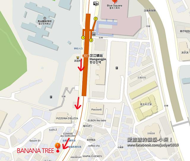 Banana Tree地圖