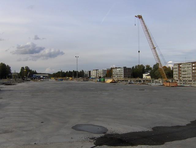 Hämeenlinnan moottoritiekate ja Goodman-kauppakeskus: Työmaatilanne 22.9.2012 - kuva 10