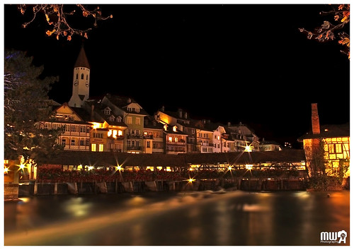 The old town of Thun