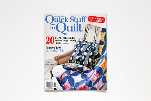 Quick Stuff to Quilt - Fall 2014
