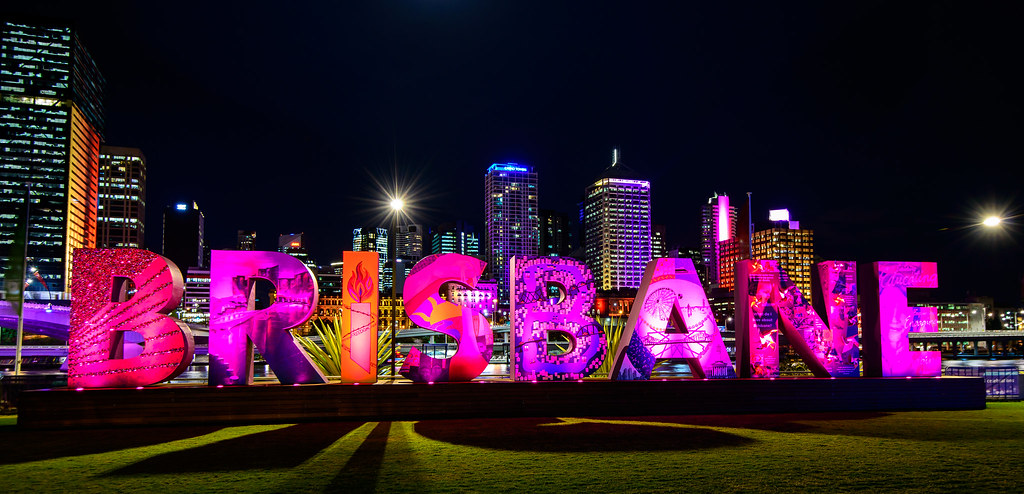 Colour Me Brisbane - South Bank