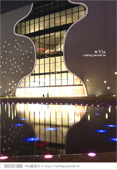 【大都會歌劇院】台中國家歌劇院~夜間水舞篇。光舞紀/光影藝術節6