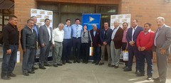 Alcalde de Chone presente en reunión de AME en Cuenca