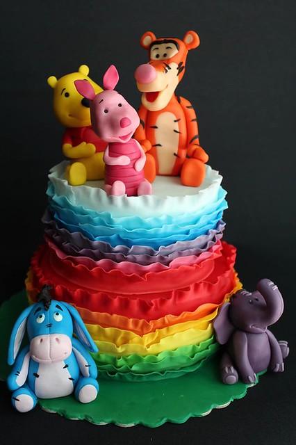 Cake from Sugar-Craft