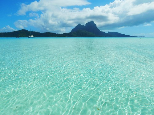 Lagoon of Bora Bora - French Polynesia