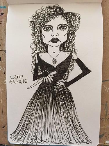 23 Inktober 2016 - Bellatrix Lestrange
