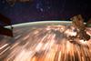 Star Trails Seen From Low Earth Orbit