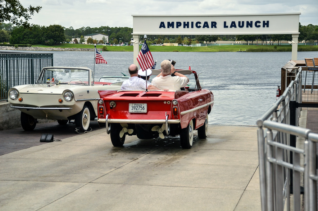 Boathouse Amphicar