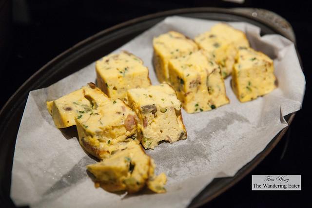 Bitter melon baked omelette