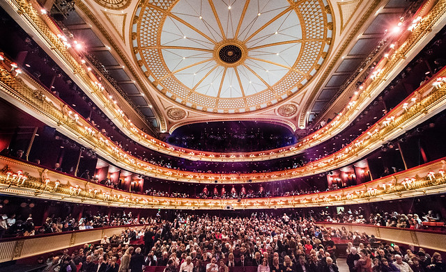 The Royal Opera House auditorium © ROH. Photographer Sim Canetty-Clarke, 2016