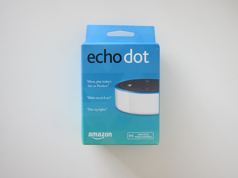 Amazon Echo Dot - Box Front