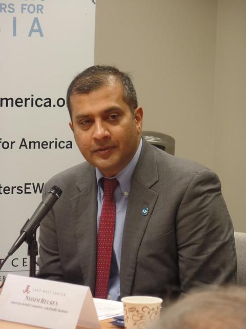 Nissim Reuben (Keynote Speaker)  Assistant Director,  AJC's Asia Pacific Institute, Washington, DC