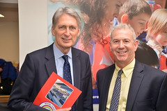 Tony Samuels and Philip Hammond