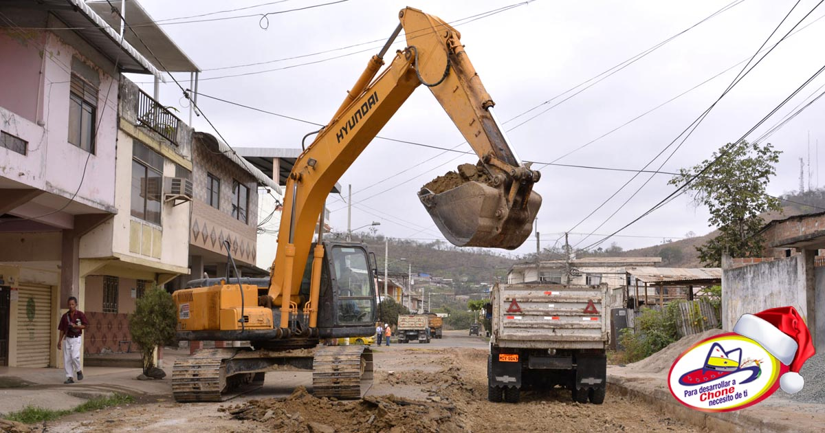 Municipio construye cinco calles adoquinadas por 550 mil dólares