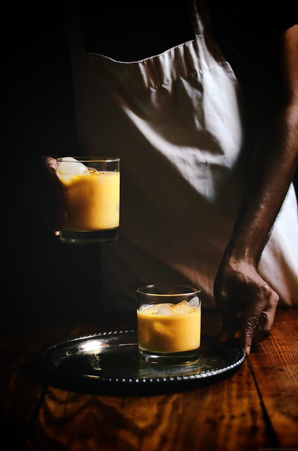 pumpkin lassi |A Brown Table