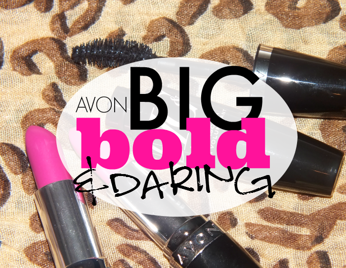 Avon Big Bold and Daring Lipstick and Mascara