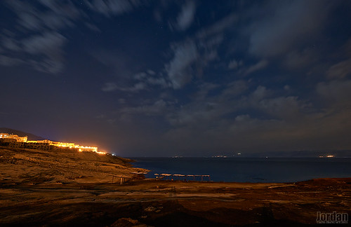 longexposure travel sea night dead jordan 夜景 deadsea 2014 四海 约旦