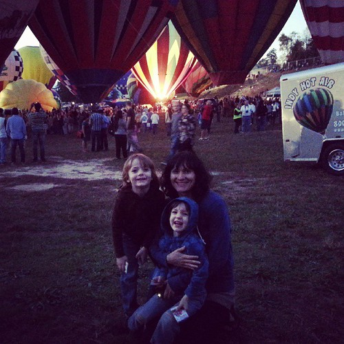 Carolina Balloon Festival was awesome. I loved seeing my favorite people as excited as I was =)