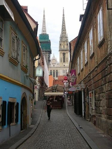 Zagreb - Terraza rest Leonardo