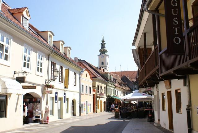Zagreb - calle Tkalciceva 3