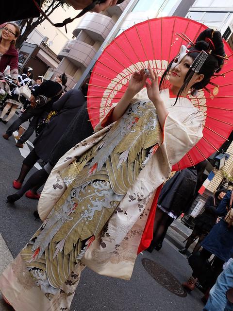 Kagurazaka Bakeneko Parade 2014-30