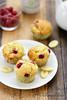 Muffins framboise chocolat blanc