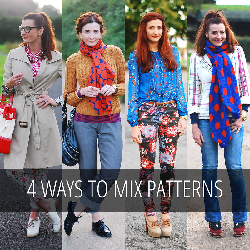 4 Ways to Mix Patterns