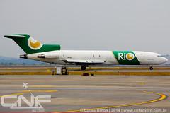 Boeing 727-200F Rio Cargo PR-IOC