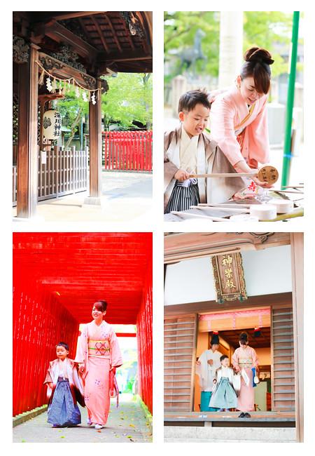 七五三写真の撮影 深川神社 愛知県瀬戸市 春日井市 家族写真 出張撮影 女性カメラマン