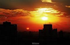 Sunset my window - São Paulo\SP - Brasil