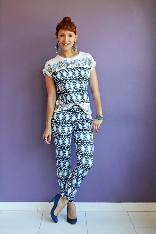 calça etnica