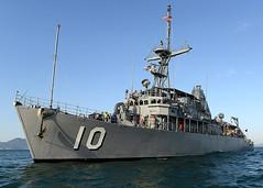 USS Warrior (MCM 10) file photo. (U.S. Navy/MC1 Frank L. Andrews)