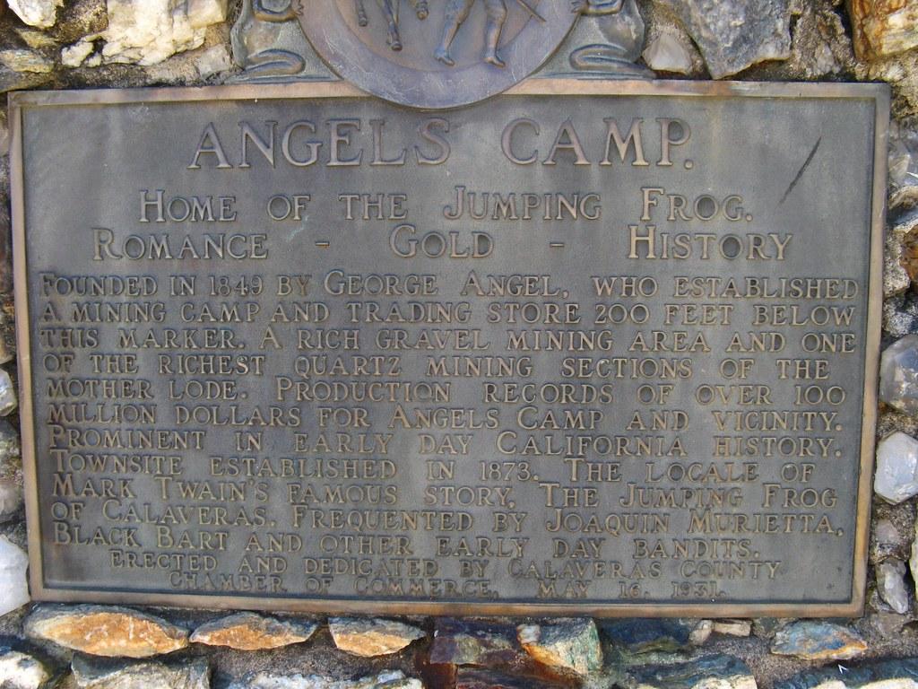Angels Camp Calaveras County California Around Guides