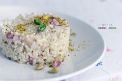 risotto pancetta & pistacchi