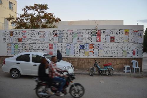Election Season in Gasfa. Photo: Louis Bonhoure, Tunisia Live