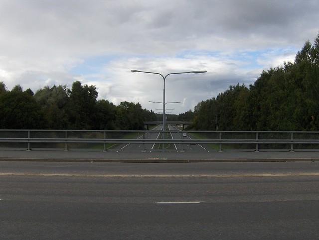 Hämeenlinnan moottoritiekate ja Goodman-kauppakeskus: Työmaan lähtötilanne 3.9.2011 - kuva 2