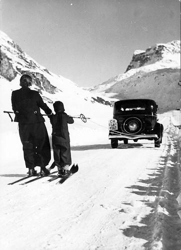 Takový rodinný výjezd na lyžích