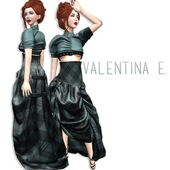 NEW! Valentina E. Sadie Ensemble at FaMESHed!