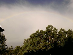 Full rainbow, courtesy of Haylee